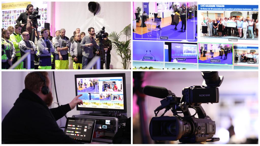 CÉRÉMONIE DES VOEUX / Captation multicam live streaming