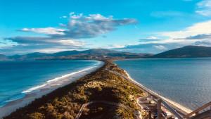 Pub spot web tv réalisation tournage en Tasmanie découverte sport tourisme